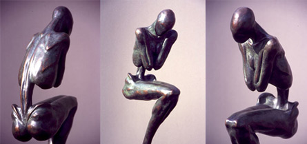 Sculpture: Exile, 1998, Bronze