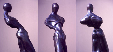 Sculpture: Peacock, 1998, Bronze