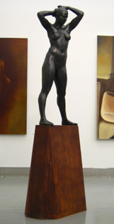 Sculpture: Nataly as Venus, 2005, installation view